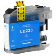 Cartouche cyan BROTHER LC223C compatible