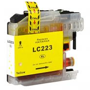 Cartouche jaune BROTHER LC223Y compatible